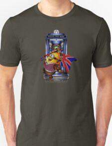Doctor Cartoons Parody with england flag T-Shirt