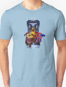 Doctor Cartoons Parody with england flag Unisex T-Shirt