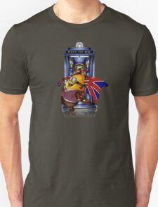 Doctor Cartoons Parody with england flag T-Shirt