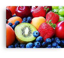 Selection of Fruits Canvas Print