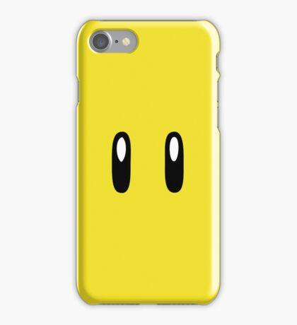 Super Mario Bros Star iPhone Case/Skin