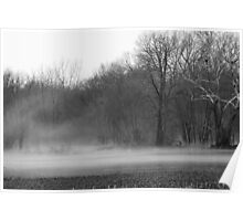 Afternoon Fog Rising Poster
