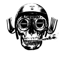 skull head by JCLARTWORK