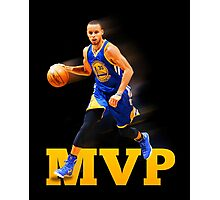 Stephen Curry 2015 MVP Print #2 Photographic Print