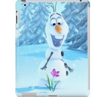 Frozen-Olaf Duvet Cover (All Sizes) iPad Case/Skin