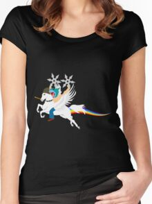 The Warrior! Women's Fitted Scoop T-Shirt