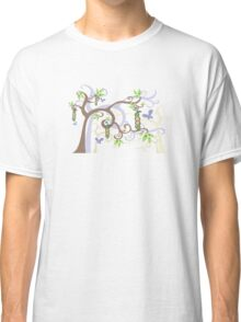 Magic Trees and Baby Boy Girl Twins Peas in a Pod Classic T-Shirt
