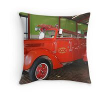 1941 30cwt Ford V8 Fire Truck Throw Pillow