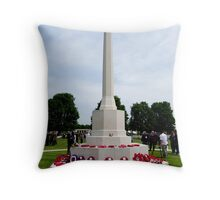 Honouring the Dead Throw Pillow