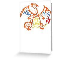 Charizard Greeting Card