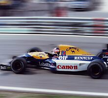 Nigel Mansell, Portugal 1992 by Matthew Walters