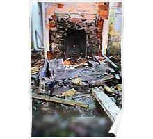 wheres the fire gone? Poster