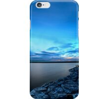 Late Picnic on an Indigo Night iPhone Case/Skin