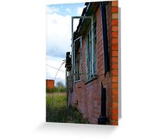Broken Dreams Greeting Card