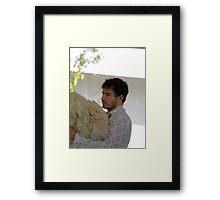 Giles Coren Framed Print