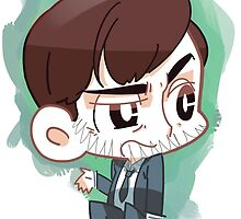 Grumpy Detective - DI Alec Hardy by Drymartinee
