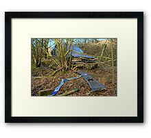 Argument With Nature 2 Framed Print