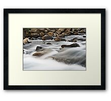 Water flow #3 Framed Print