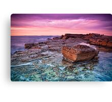 Dawn Rocks Canvas Print