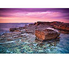 Dawn Rocks Photographic Print