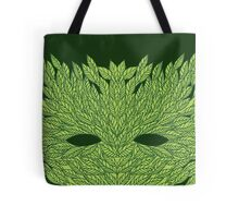 Green Man Mask Tote Bag