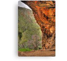 Giants Cave  Lookout - Morialta S.A. Canvas Print