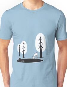 I always want to be in the woods Unisex T-Shirt