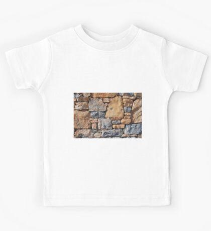 Dry stone wall, Alonissos Kids Tee