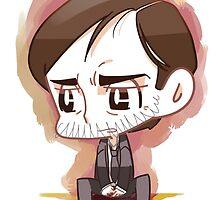 Grumpy Detective - Detective Emmett Carver by Drymartinee