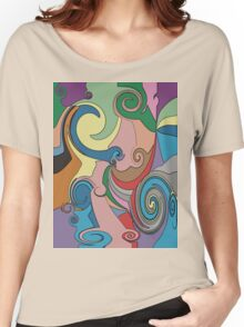 Beside the Seaside T-Shirt Women's Relaxed Fit T-Shirt