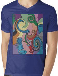Beside the Seaside T-Shirt Mens V-Neck T-Shirt