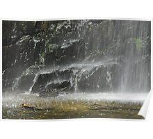 Falls Mist - Morialta - Conservation Park. SA. Poster