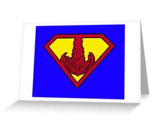 Superrosetta Greeting Card