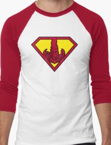 Superrosetta Men's Baseball ¾ T-Shirt