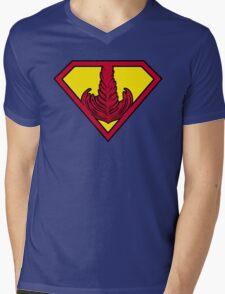 Superrosetta Mens V-Neck T-Shirt