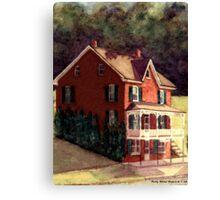 Railroad Post Office Canvas Print