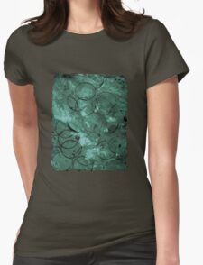 Textured teal circles T-Shirt