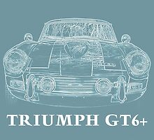 Triumph GT 6+ by Edward Fielding
