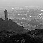 Ochil Series - The Wallace Monument and Stirling by Kevin Skinner