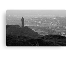 Ochil Series - The Wallace Monument and Stirling Canvas Print
