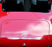 '64 Red MG by baileys