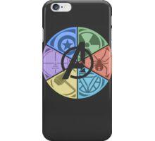 Team Avengers Assemble - Circular iPhone Case/Skin