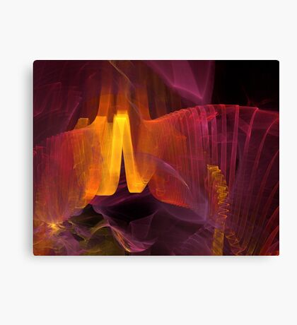 abstract artistic background  Canvas Print