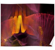 abstract artistic background  Poster