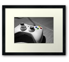 Lonely Gamer Framed Print