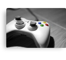 Lonely Gamer Canvas Print
