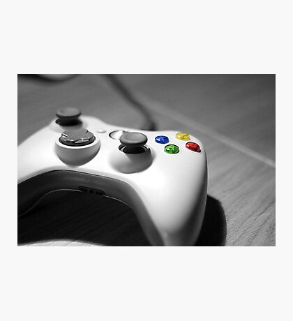 Lonely Gamer Photographic Print