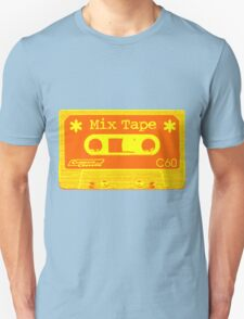 Psychedelic Mix Tape - Orange and Yellow T-Shirt
