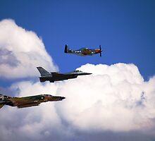 Flying Trio by cshphotos