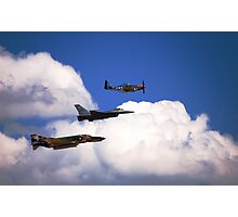 Flying Trio Photographic Print